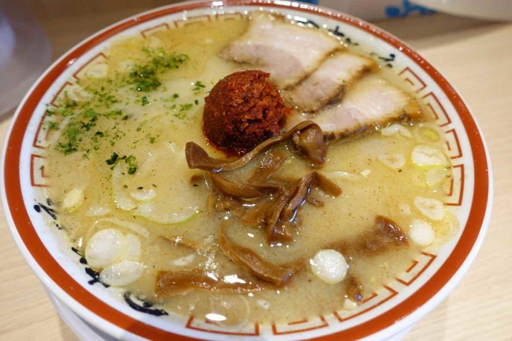 田中そば店の山形辛味噌ラーメン