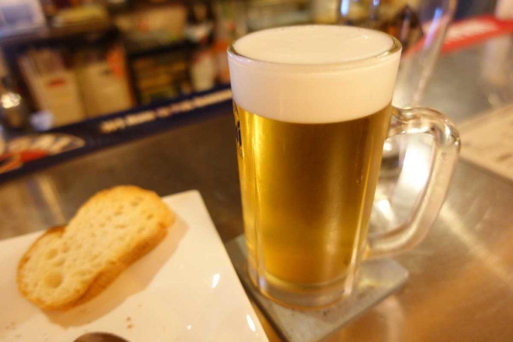 ブルーイの朝日生ビール マルエフ