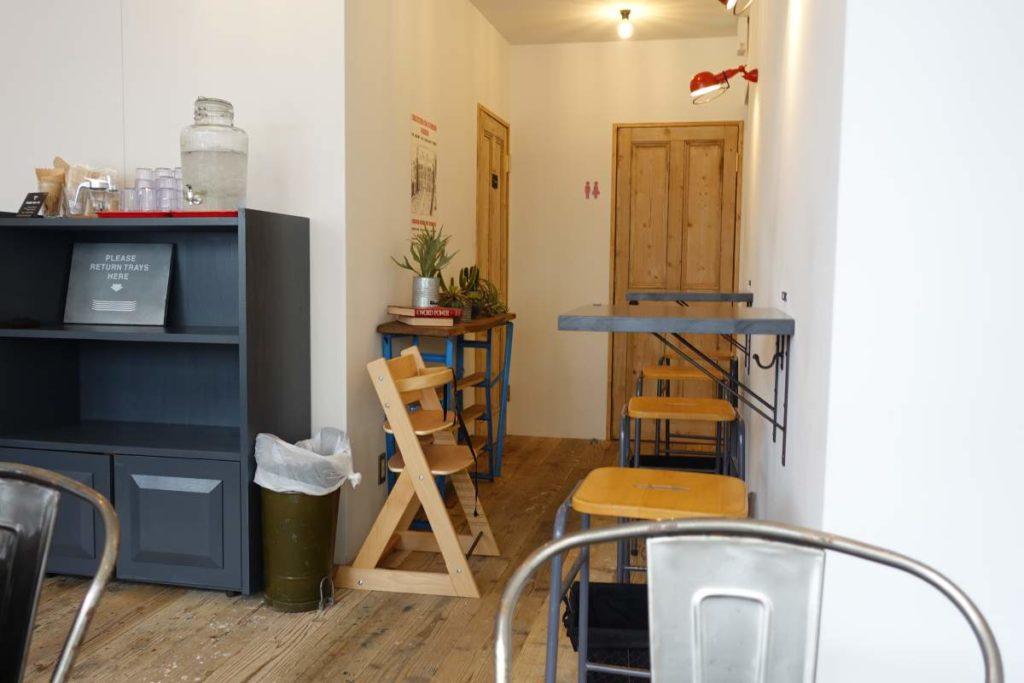 ファイブスターズのカフェスペース2