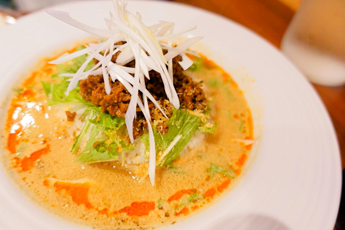 Kigaruの担々スープご飯