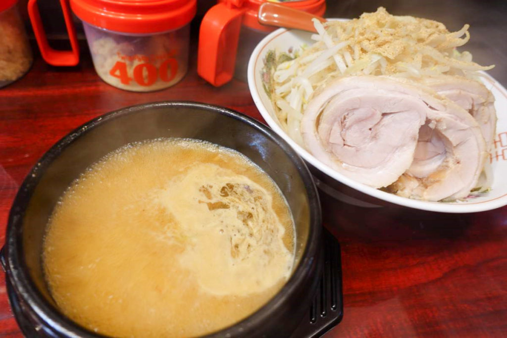 郎郎郎のつけ麺