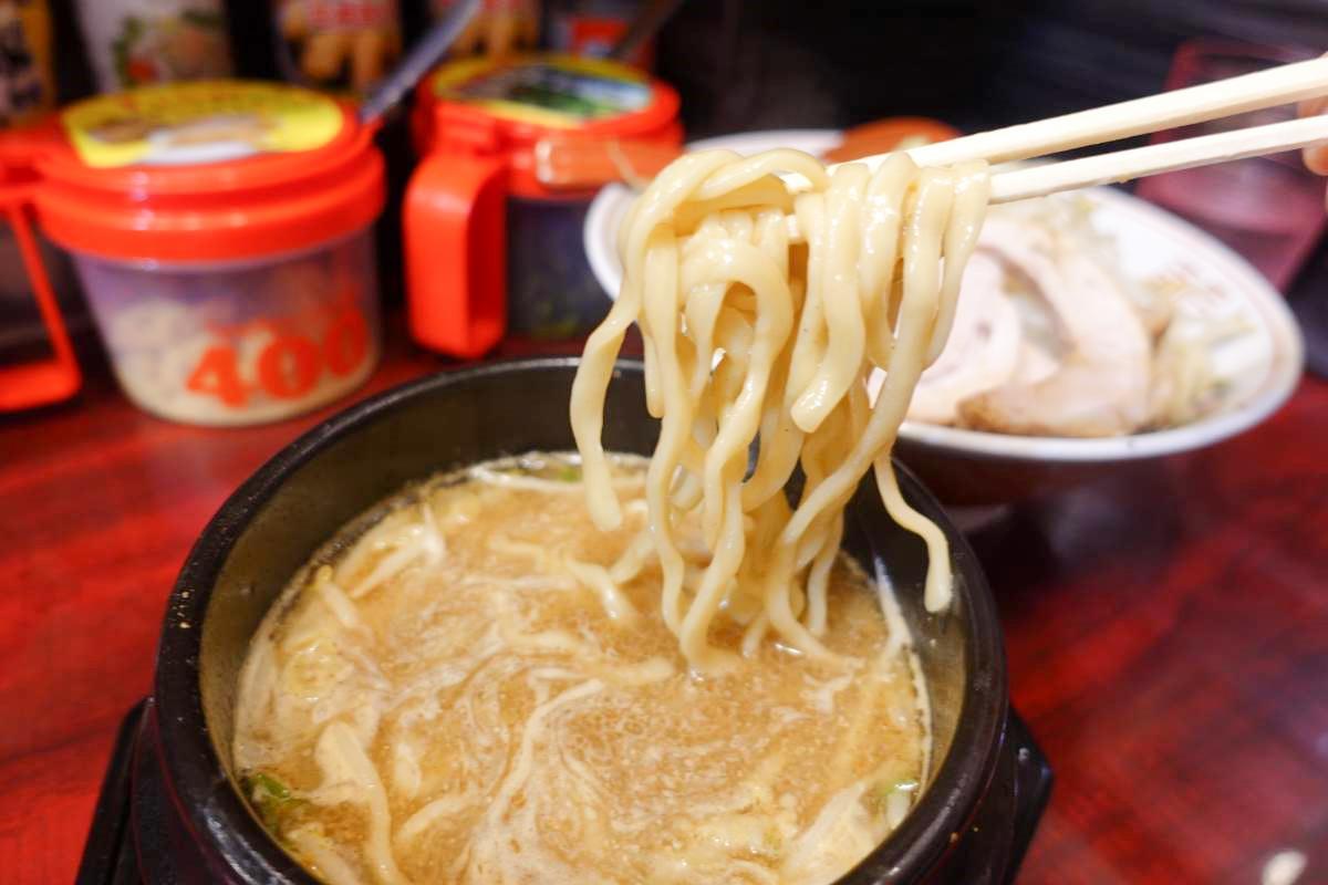 二郎系ラーメン郎郎郎(さぶろう)が明大前にオープン!魚介つけ麺を食べてきた