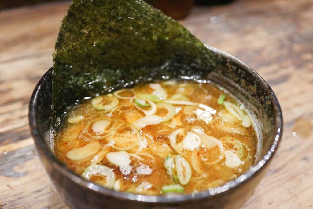 麵屋すが田のつけ麺スープ