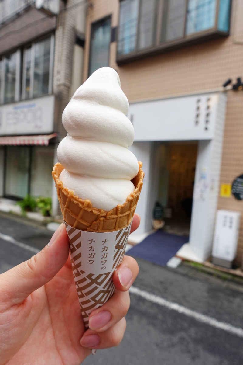ナカガワのナカガワの濃厚モゥモゥ・ソフトクリーム