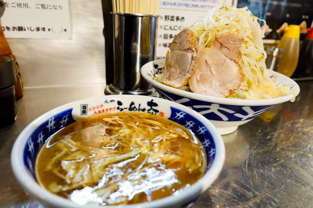 らーめん大のつけ麺