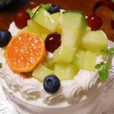 リモージュのメロンのショートケーキ@明大前