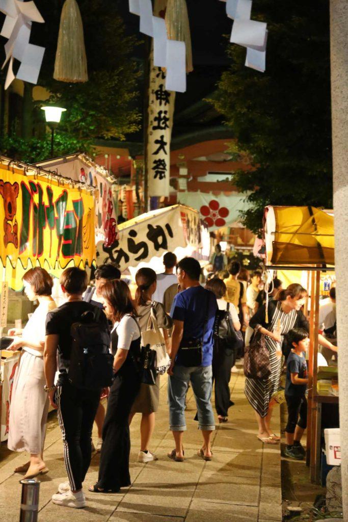 菅原神社の縁日