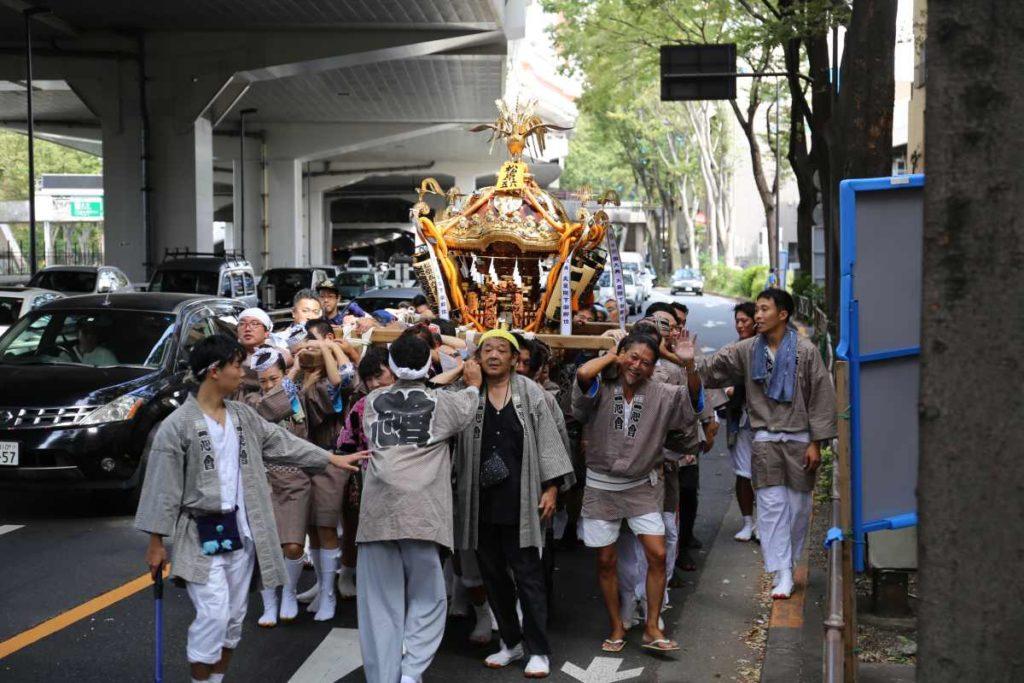 松原5・6丁目のお神輿