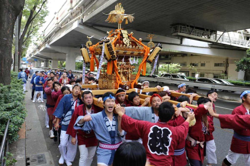 松原3丁目のお神輿