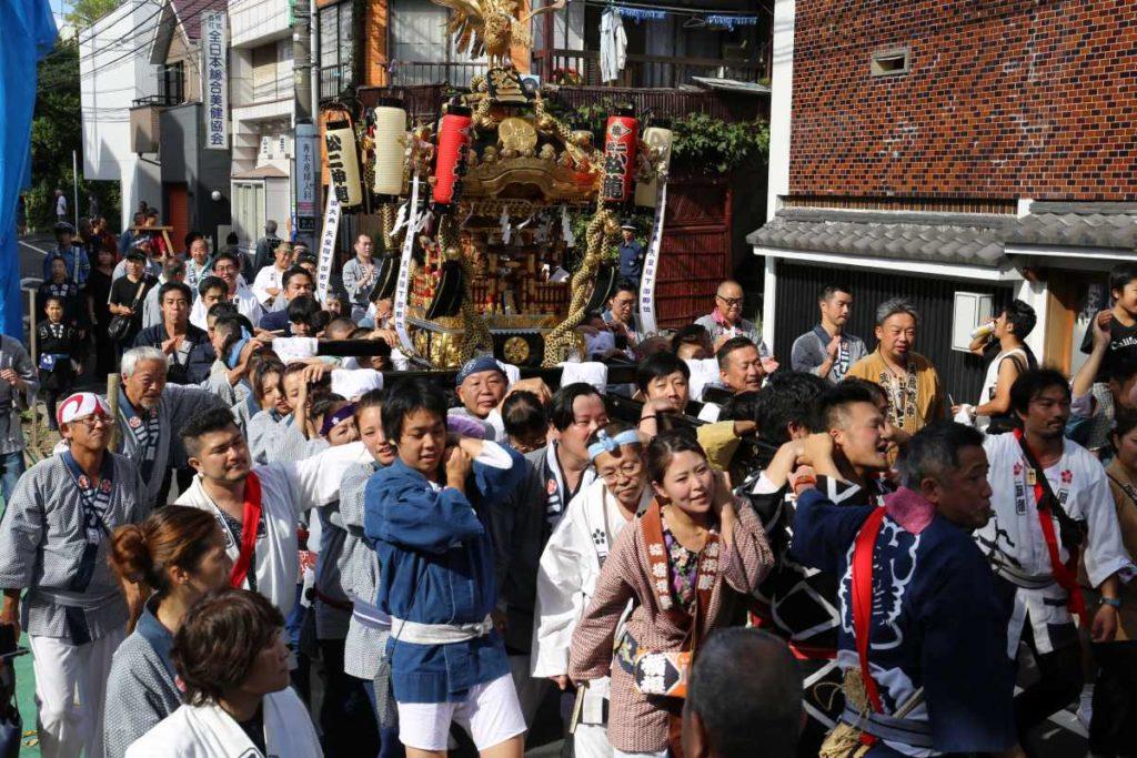松原2丁目のお神輿