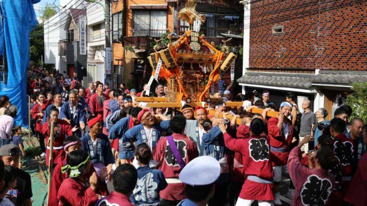 菅原神社の例大祭2019