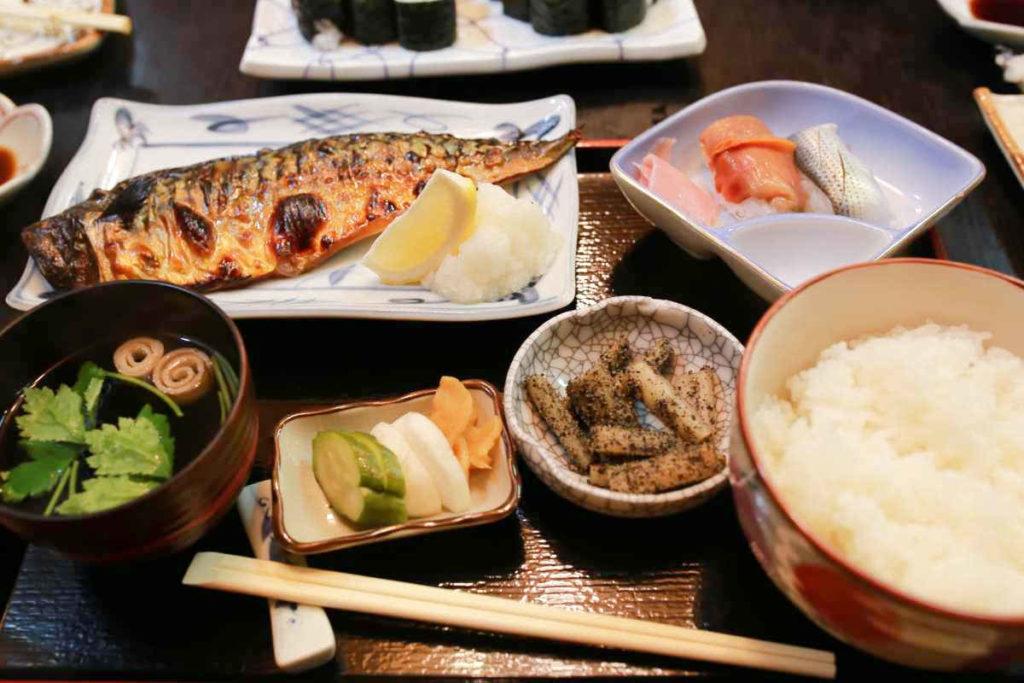 焼きサバ定食 1000円