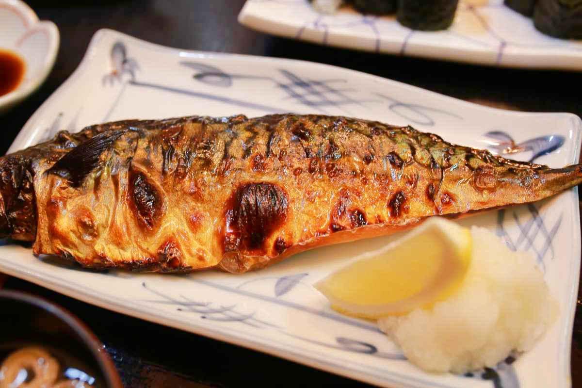 大和寿司の焼きサバ定食が美味い!