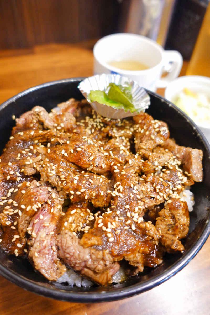 ステーキ丼 300g