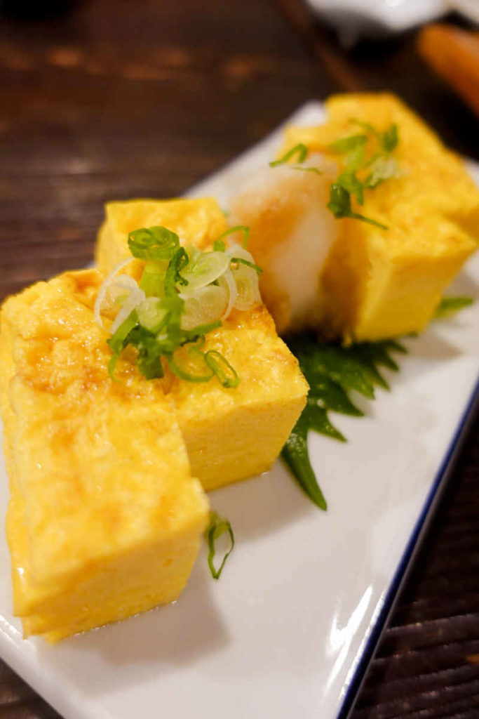 お寿司屋さんの玉子焼き