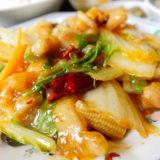 鶏肉白菜四川風炒め アップ