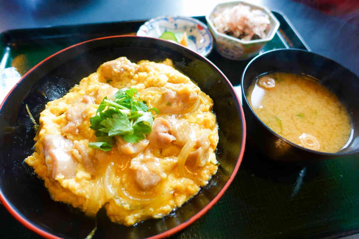 大山鶏の親子丼定食
