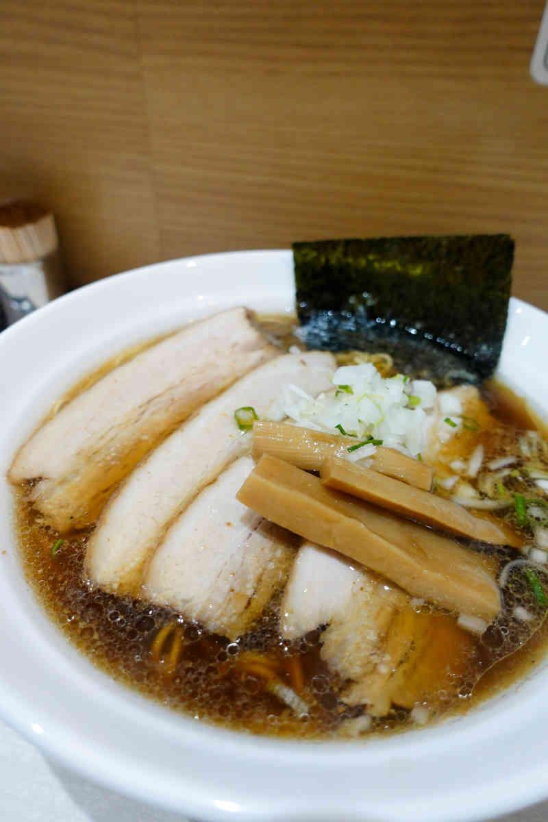 紫チャーシュー麺