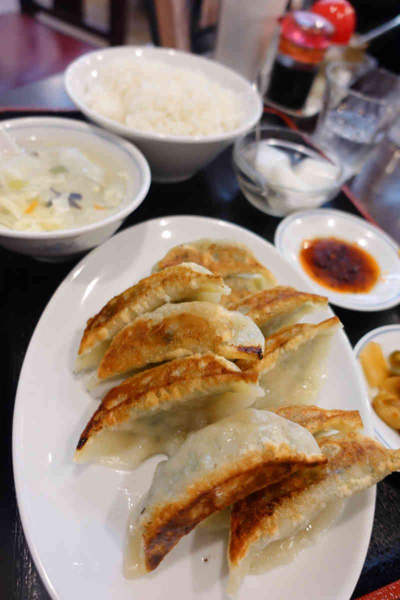 ニラ餃子定食