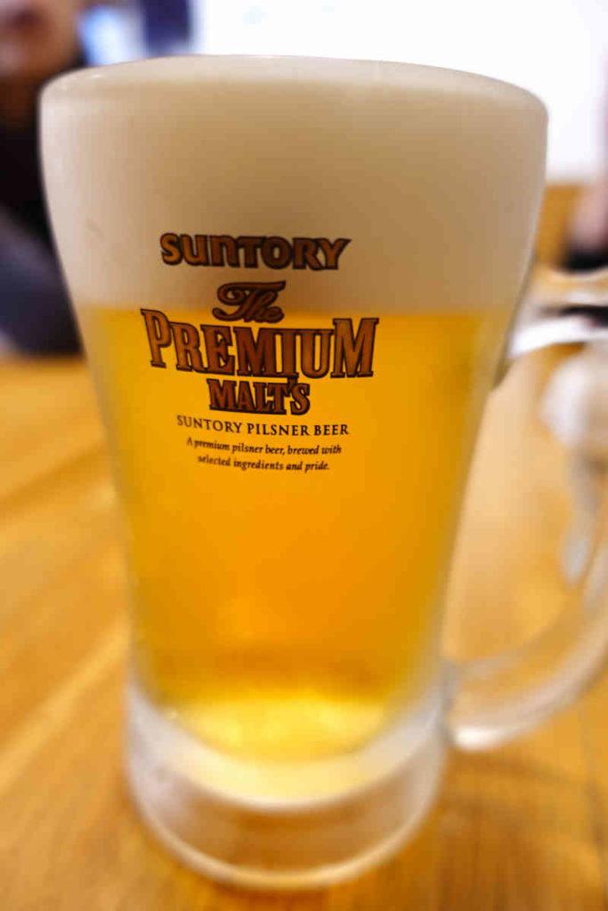 カナピナのランチビール