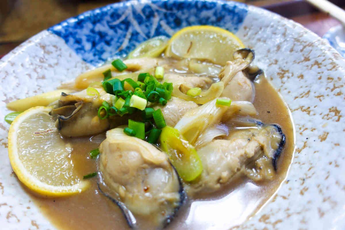 寿々木家の牡蠣の炒め煮