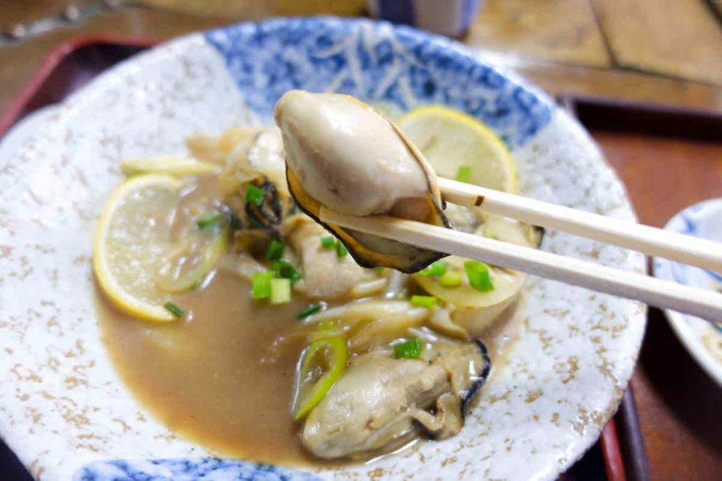 寿々木家の牡蠣
