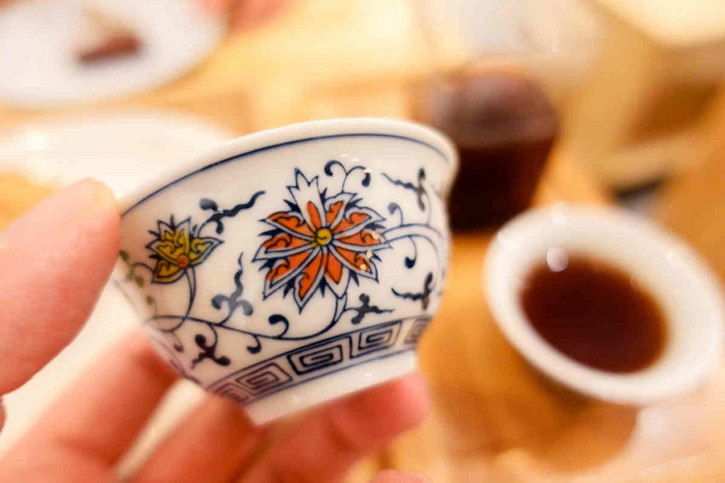 珈琲の茶碗