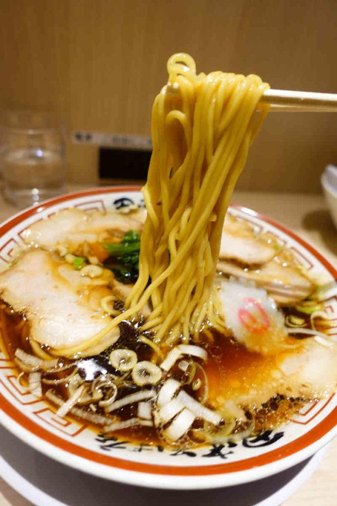 福田の中華そばの麺