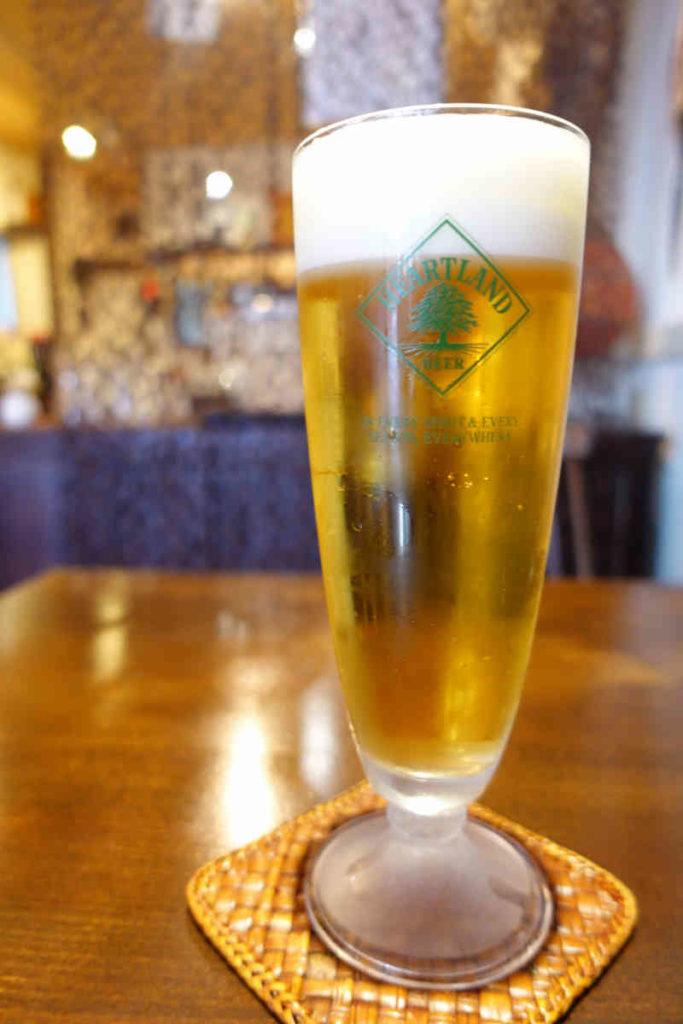 セットのビール