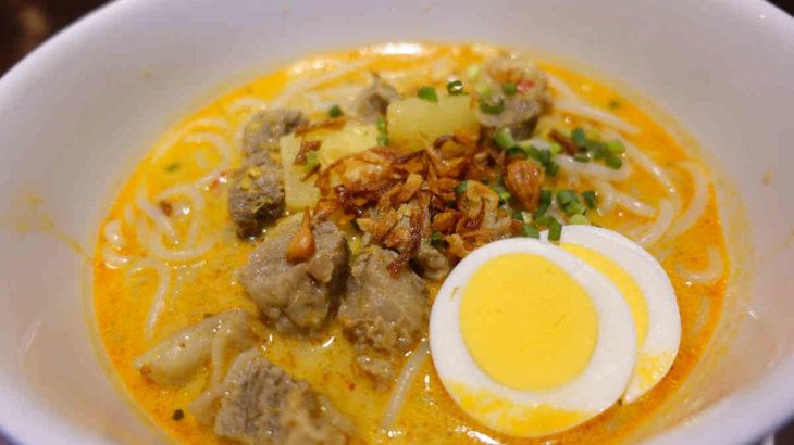 ブンガブランの米麺カレーヌードル、カリ・ビーフン・メダン