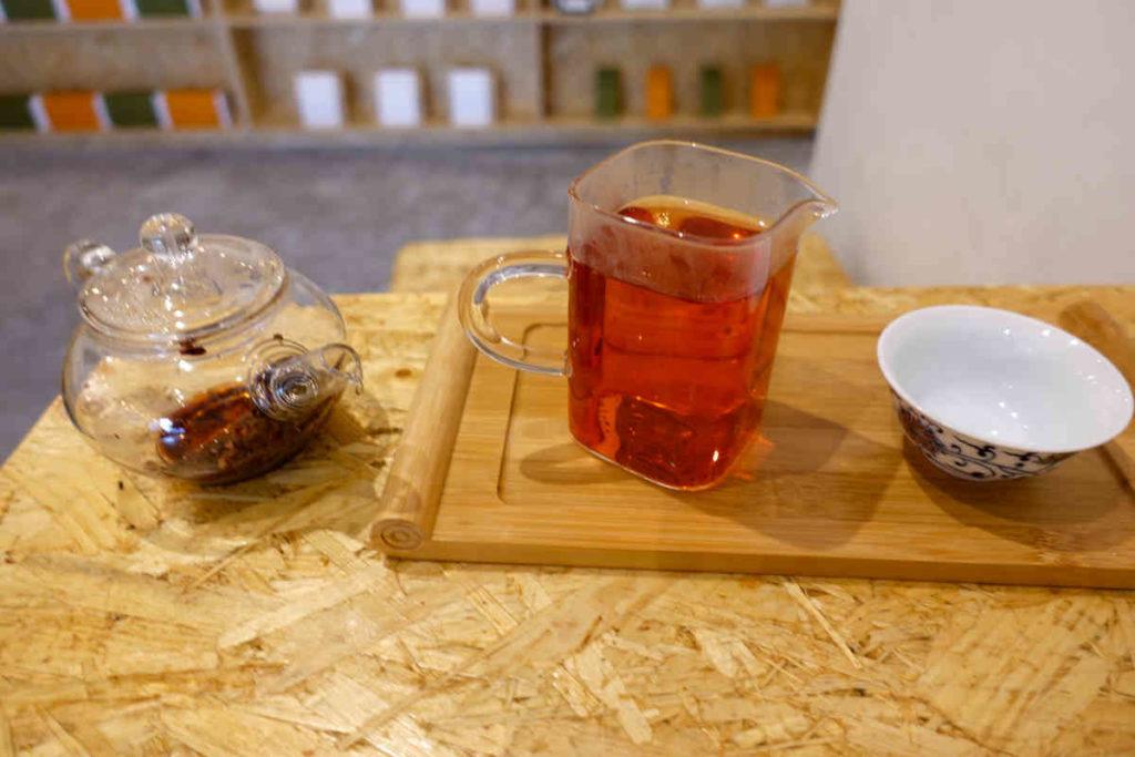 ローゼル紅茶