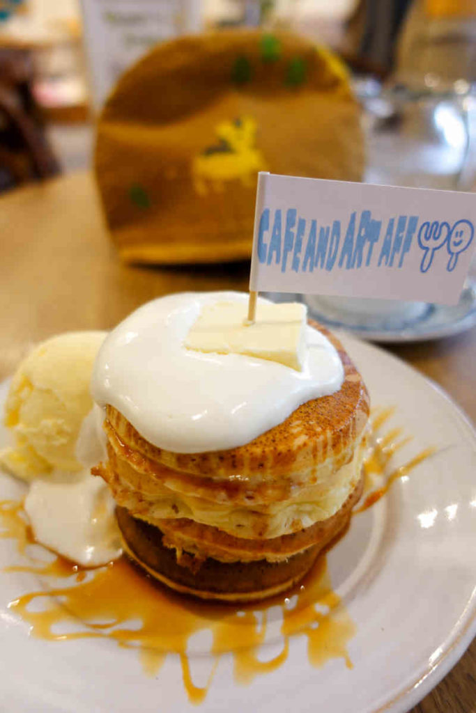 AFFのパンケーキ