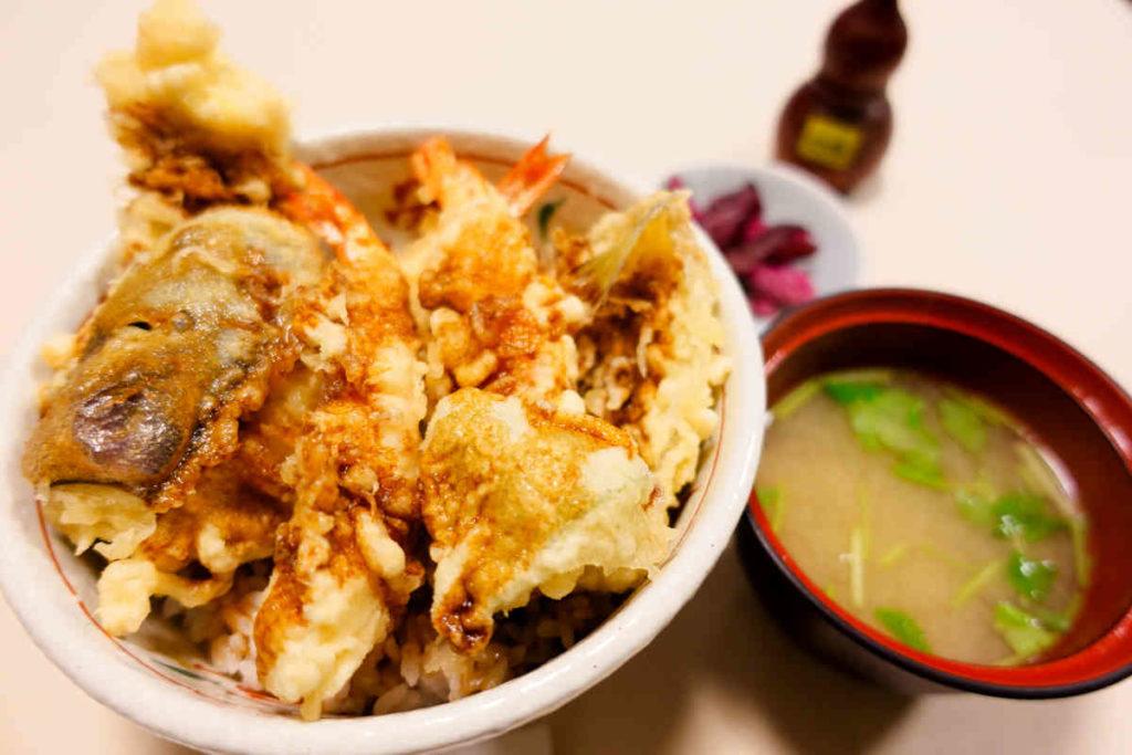 旭鮨のランチ天丼
