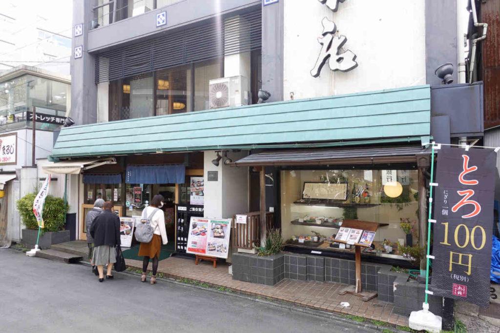 旭鮨総本店の外観