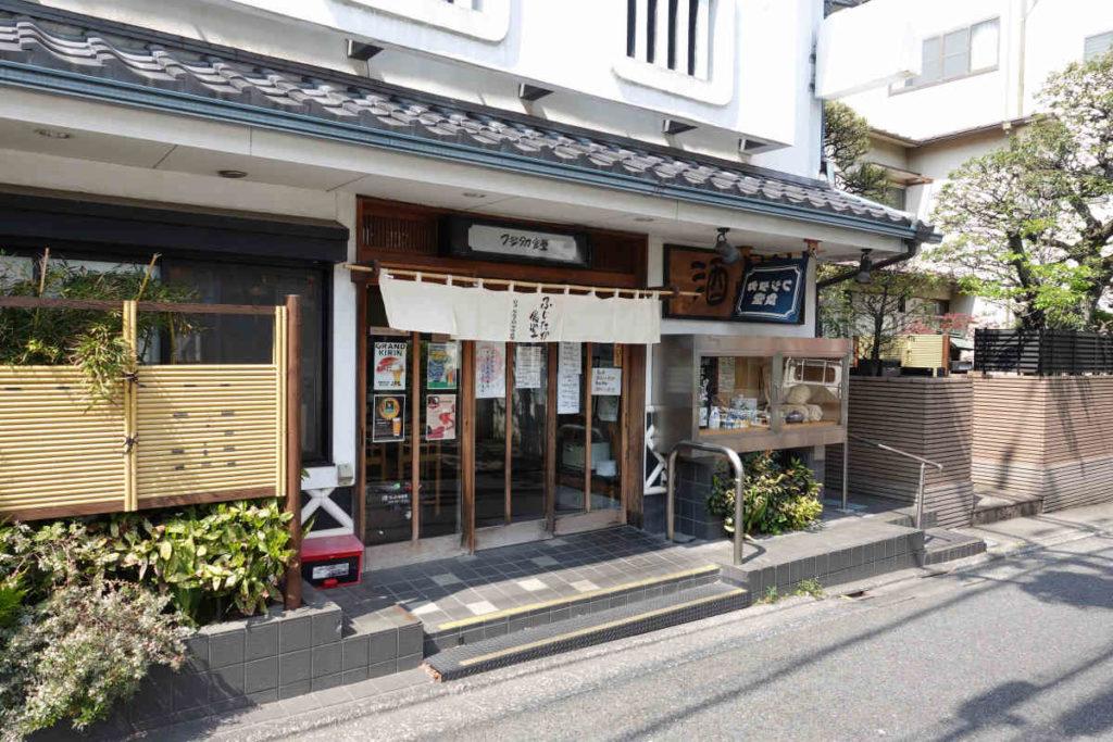 下高井戸 フジタカ食堂の外観