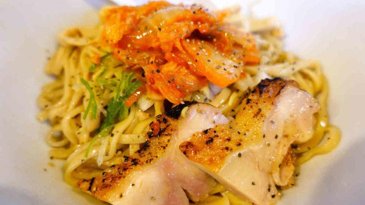 麺匠ようすけ鶏煮亭の新メニュー「キムチ納豆まぜそば」