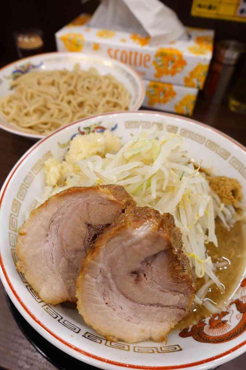 豚山のつけ麺