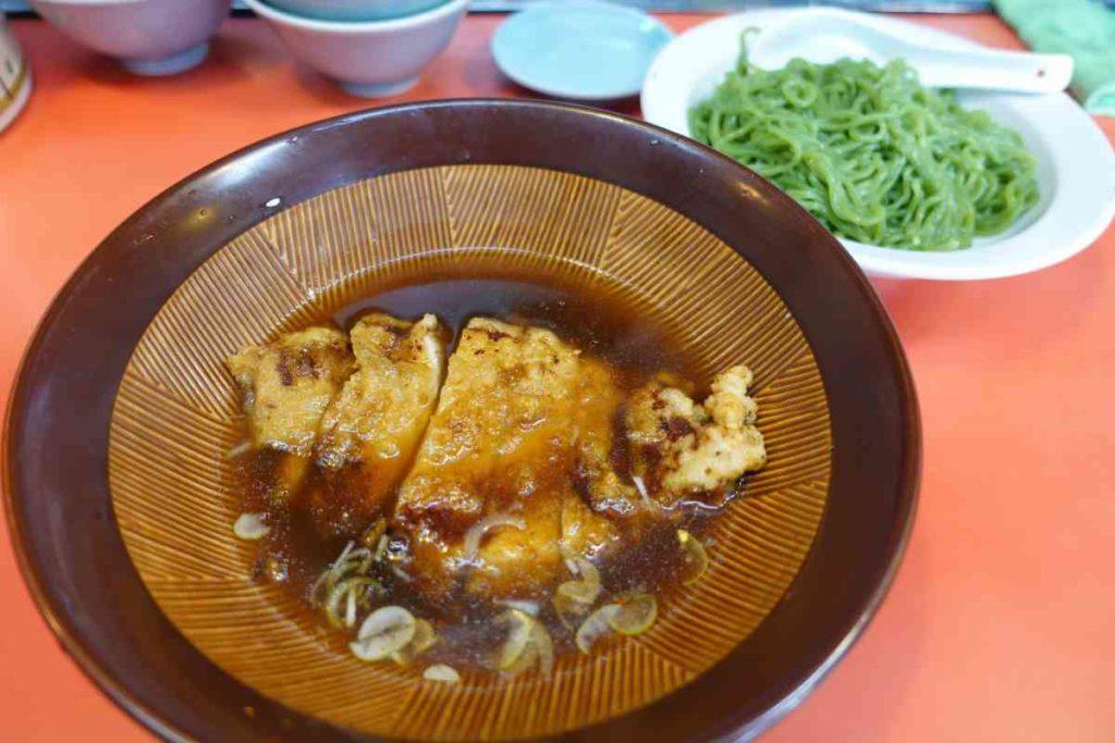 つけ麺大王の翡翠ロースつけ麺