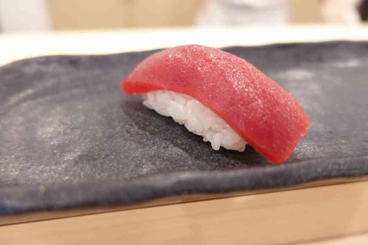 【鮨すえひろ】のおまかせにぎり鮨