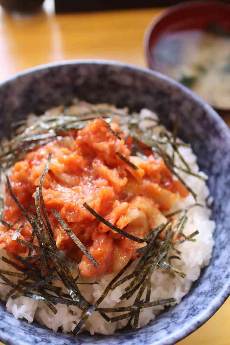 ネギトロキムチ丼 800円