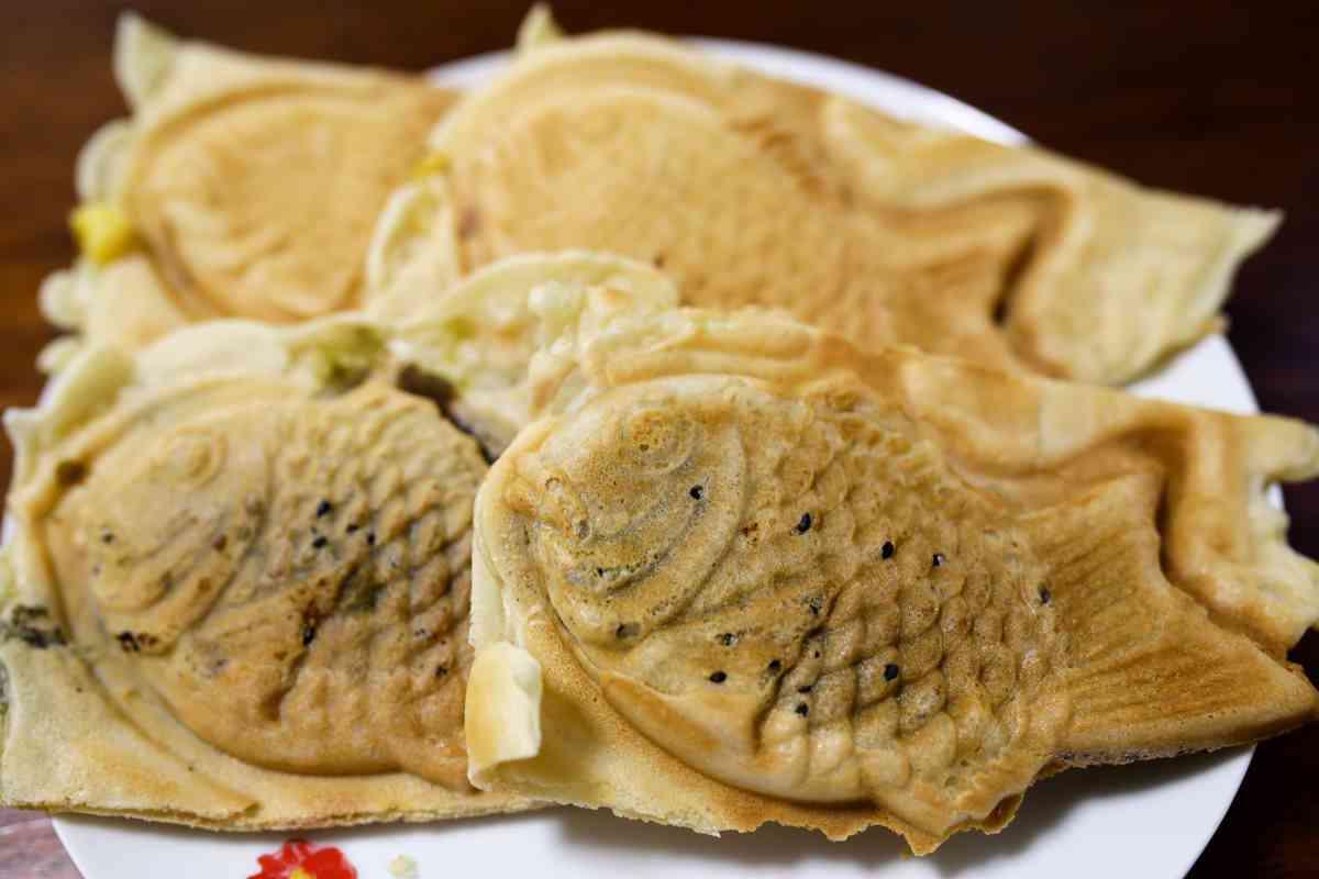 経堂小倉庵の抹茶白玉たい焼きは年に一度の限定販売