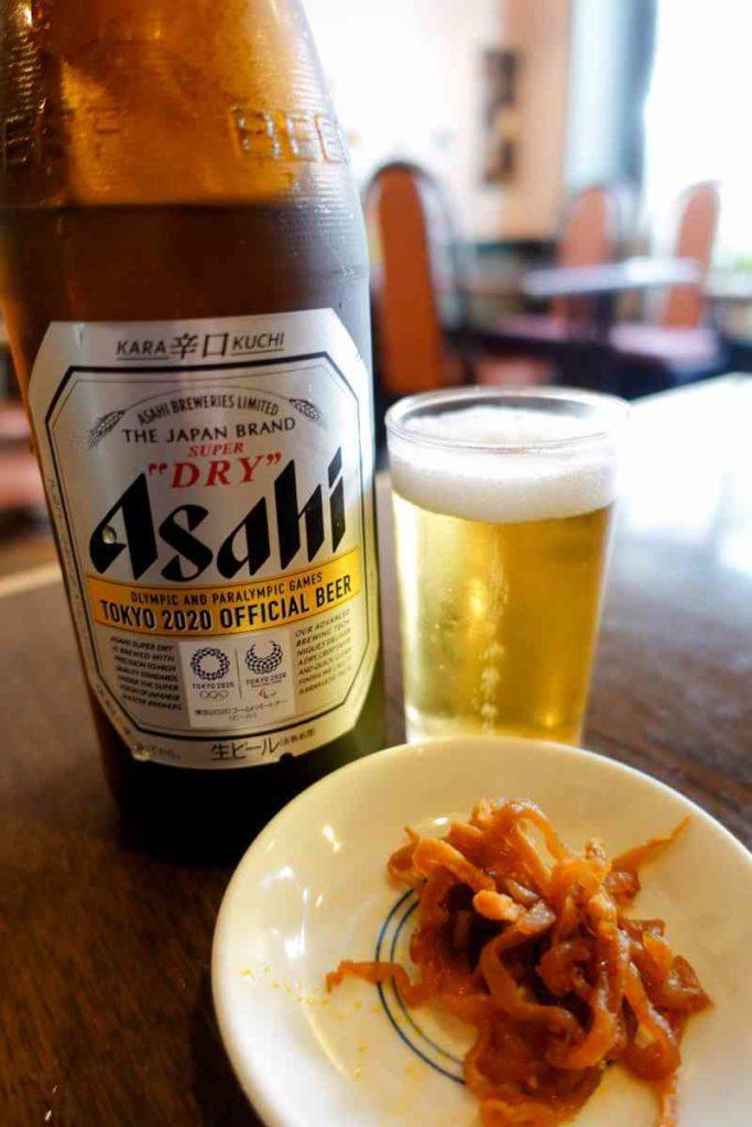 アサヒビール中瓶 570円