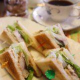 カフェ コロラドの鯖サンドは旨味凝縮で美味しいぞ