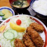 カキフライ定食 800円