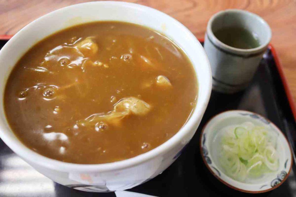 カレー南蛮蕎麦 700円 大盛 150円