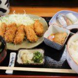 大和寿司のカキフライ定食は何もかけずに食べても美味しい