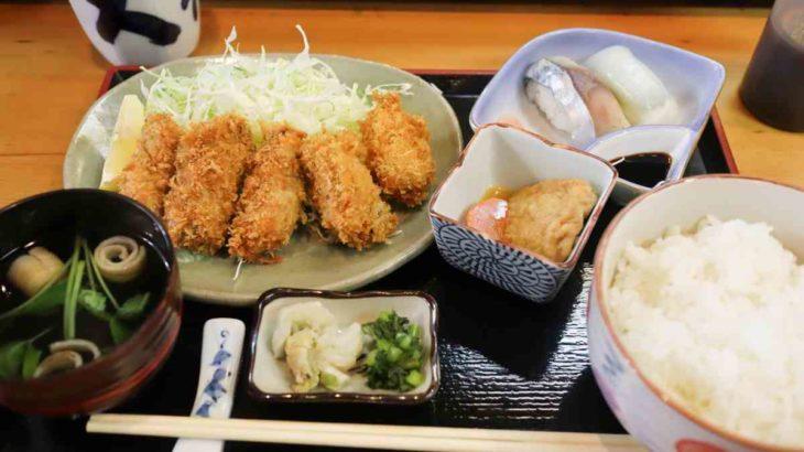 カキフライ定食 1,100円