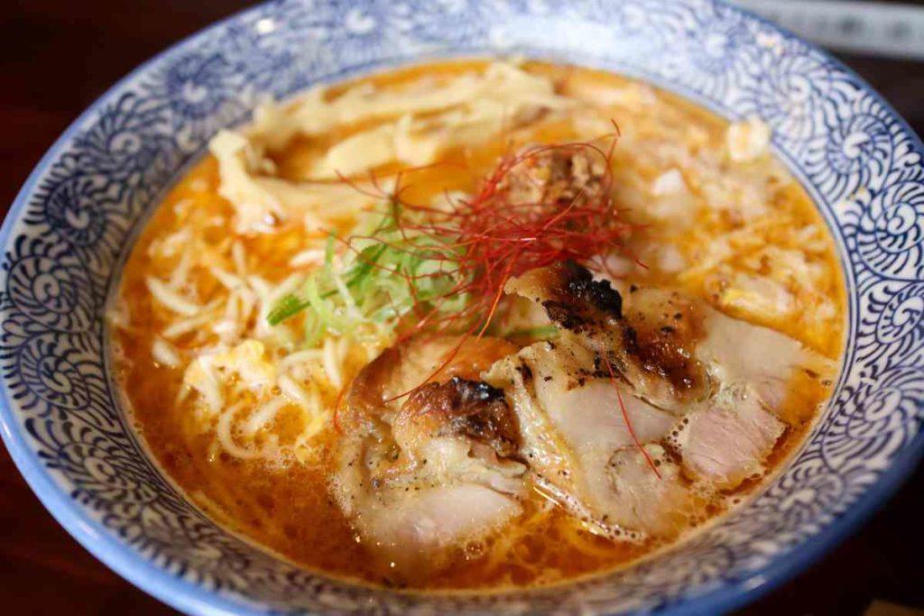 酸辣鶏白湯 1,000円