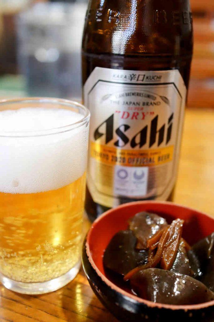 ビール(中瓶) 550円