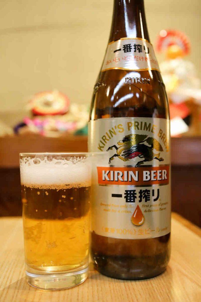 ビール(中瓶) 600円(税別)